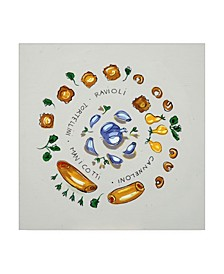"Patricia A. Reed Ravioli Canvas Art - 36.5"" x 48"""
