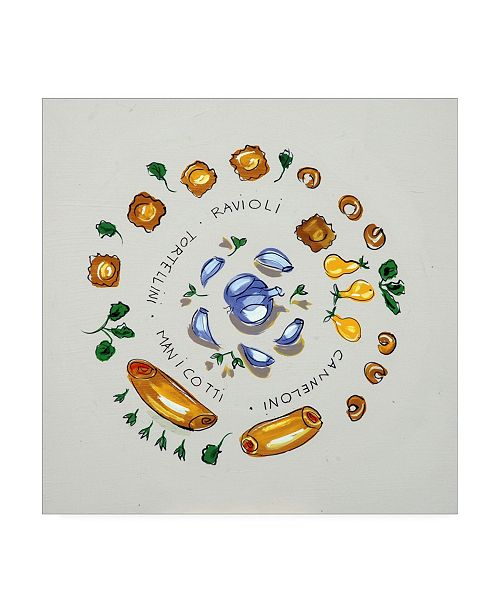 "Trademark Global Patricia A. Reed Ravioli Canvas Art - 36.5"" x 48"""