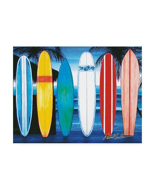 "Trademark Global Patrick Sullivan Surfboards Canvas Art - 19.5"" x 26"""
