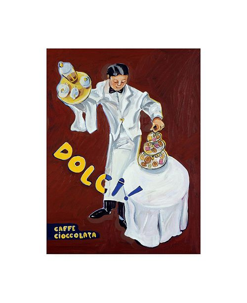 "Trademark Global Patricia A. Reed Garcon Dolci Canvas Art - 36.5"" x 48"""
