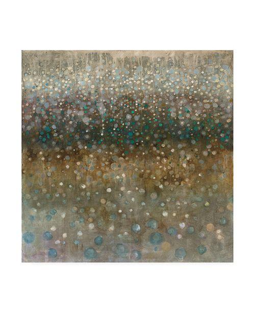 "Trademark Global Danhui Nai Abstract Rain Canvas Art - 36.5"" x 48"""
