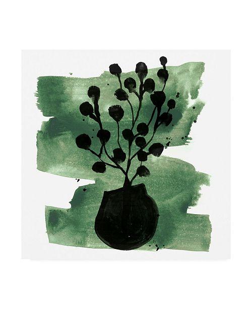 "Trademark Global June Erica Vess Tropical Sumi E IV Canvas Art - 15.5"" x 21"""