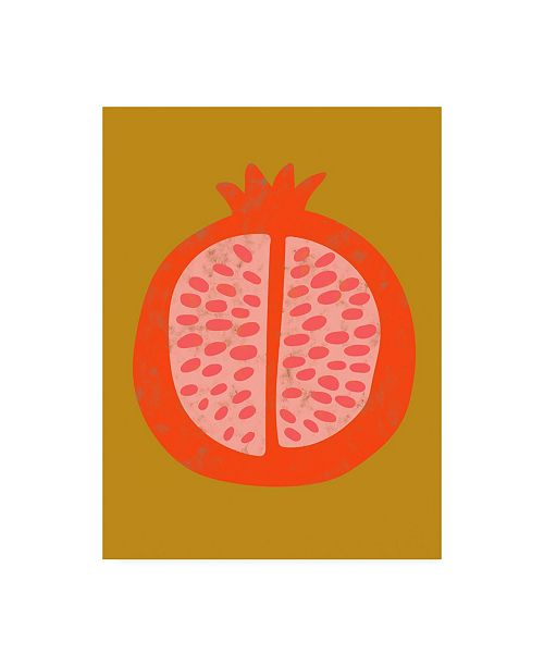 "Trademark Global Chariklia Zarris Fruit Party VI Canvas Art - 15.5"" x 21"""