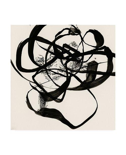 "Trademark Global Jennifer Goldberger Sumi E Abstract I Canvas Art - 19.5"" x 26"""