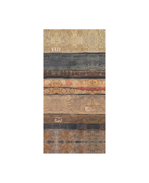 "Trademark Global Judi Bagnato Earthy Reflections I Canvas Art - 15.5"" x 21"""