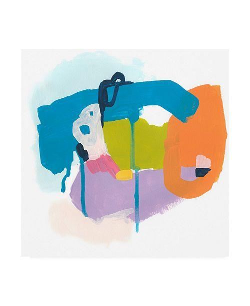 "Trademark Global June Erica Vess Shorthand I Canvas Art - 19.5"" x 26"""