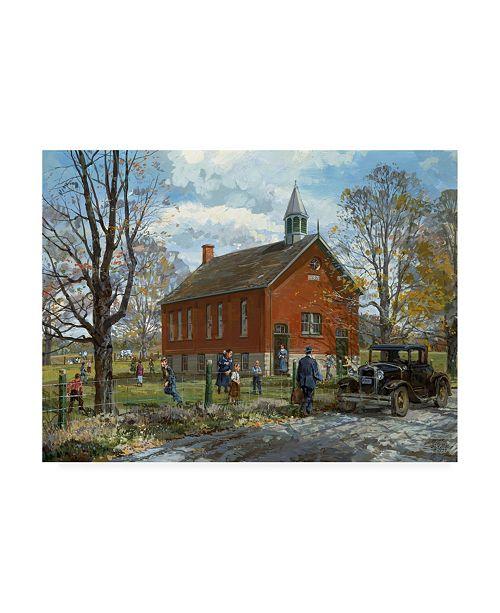 """Trademark Global Peter Snyder School Inspector Canvas Art - 27"""" x 33.5"""""""