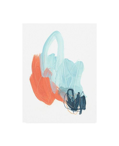 "Trademark Global June Erica Vess Blaze IV Canvas Art - 27"" x 33.5"""
