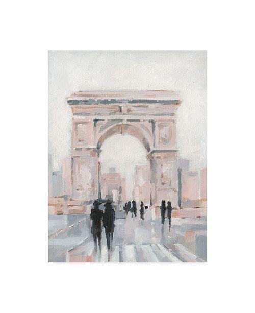 "Trademark Global Ethan Harper Early Morning Stroll II Canvas Art - 27"" x 33.5"""