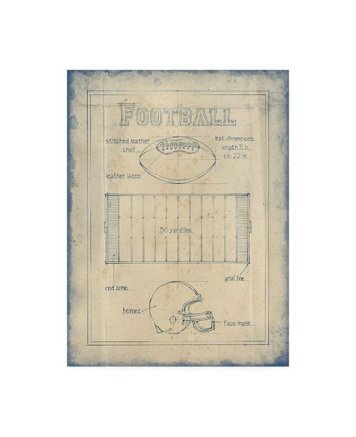 "Trademark Global Ethan Harper All About the Game II Canvas Art - 27"" x 33.5"""