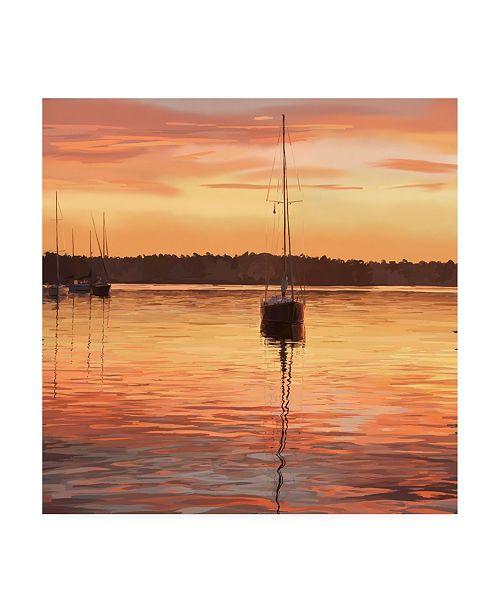 "Trademark Global Emily Kalina Sailing Portrait III Canvas Art - 19.5"" x 26"""