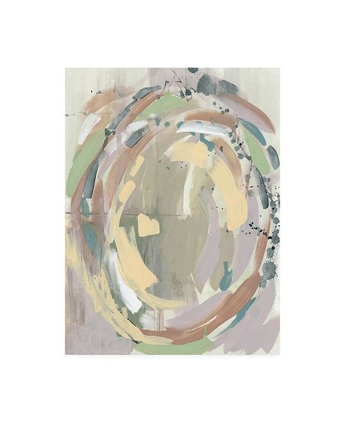 "Trademark Global Jennifer Goldberger Pastel Around I Canvas Art - 15.5"" x 21"""
