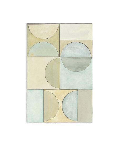 "Trademark Global Renee W. Stramel Lacuna Study I Canvas Art - 15.5"" x 21"""