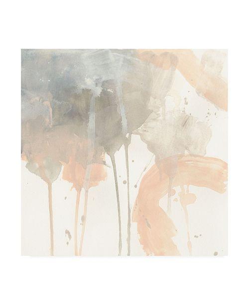"Trademark Global June Erica Vess Blush Beacon I Canvas Art - 15.5"" x 21"""