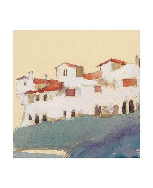 """Trademark Global Samuel Dixon Along the Costa Del Sol II Canvas Art - 15.5"""" x 21"""""""