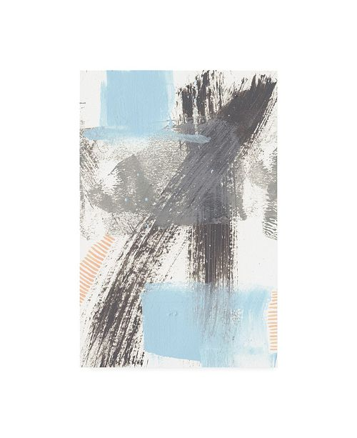 "Trademark Global Regina Moore Kenetic III Canvas Art - 15.5"" x 21"""