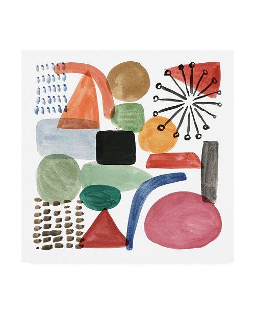 "Trademark Global Melissa Wang Color Code I Canvas Art - 19.5"" x 26"""