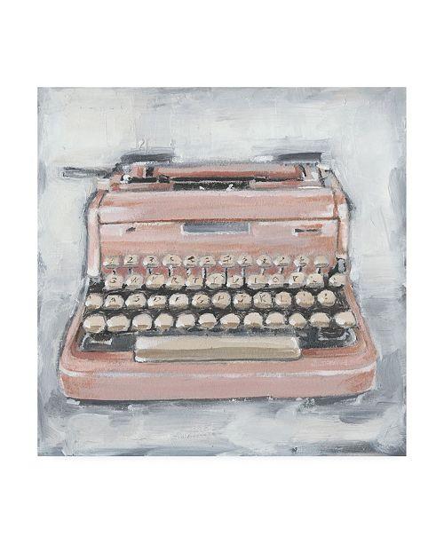 "Trademark Global Ethan Harper Vintage Typewriter IV Canvas Art - 19.5"" x 26"""