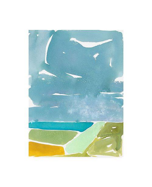 "Trademark Global Rob Delamater Abstract Italian Landscape II Canvas Art - 27"" x 33.5"""
