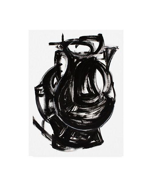 "Trademark Global Rob Delamater Etruscan Vessel IV Canvas Art - 27"" x 33.5"""