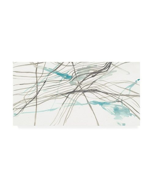 "Trademark Global Jennifer Goldberger Tendrils I Canvas Art - 27"" x 33.5"""