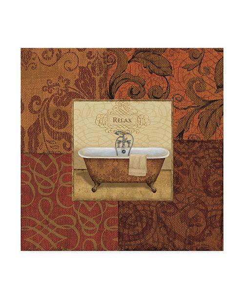 "Trademark Global Daphne Brissonnet Spice Bath I Canvas Art - 15"" x 20"""