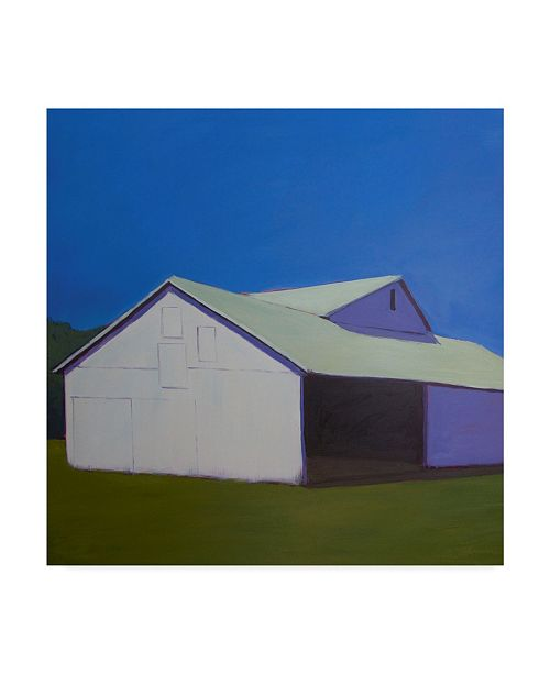"""Trademark Global Carol Young Lonely Barn Canvas Art - 27"""" x 33"""""""