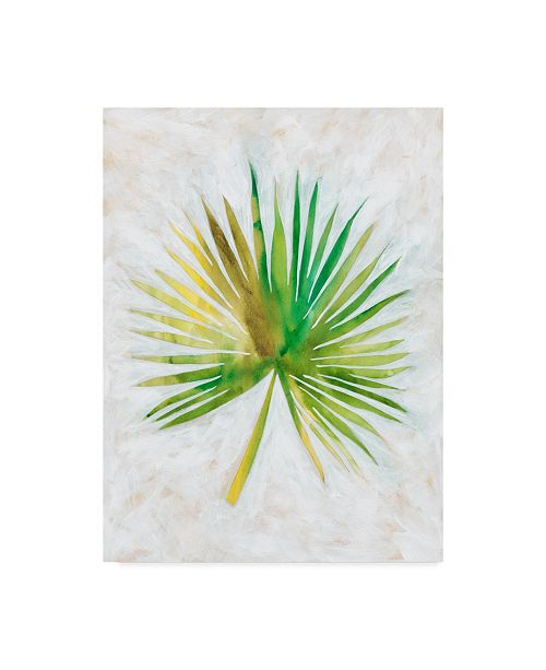 "Trademark Global Chariklia Zarris Ocean Side Palms II Canvas Art - 20"" x 25"""