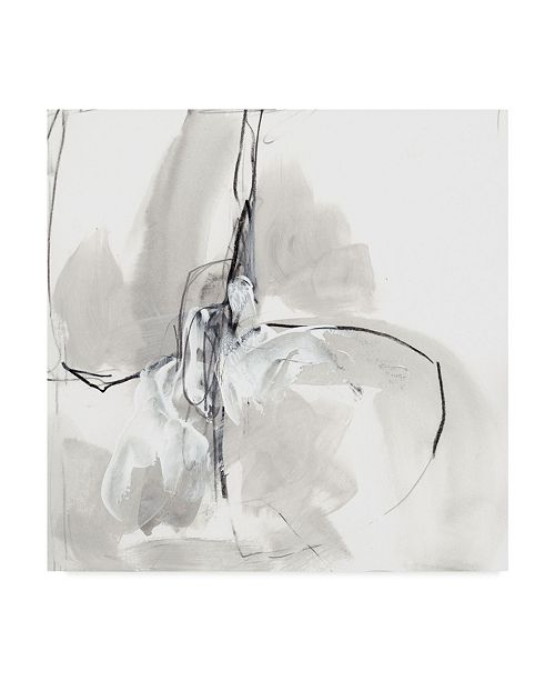 "Trademark Global June Erica Vess Monochrome Gestures VIII Canvas Art - 15"" x 20"""