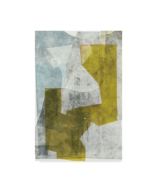 "Trademark Global Rob Delamater Tower Canvas Art - 37"" x 49"""