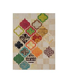 "Greg Perkins Moroccan Mod II Canvas Art - 37"" x 49"""
