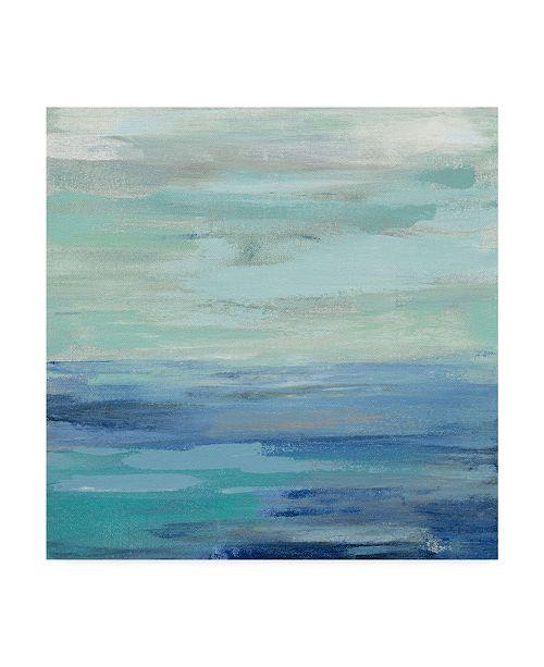 "Trademark Global Silvia Vassileva Sunset Beach Ii No Orange Canvas Art - 15"" x 20"""