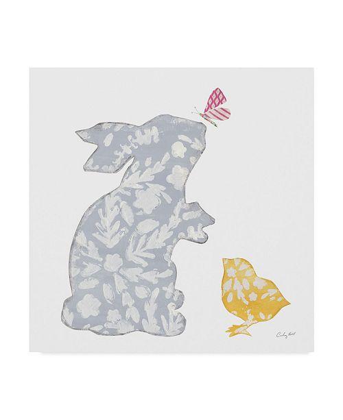 "Trademark Global Courtney Prahl Spring has Sprung I Canvas Art - 27"" x 33"""