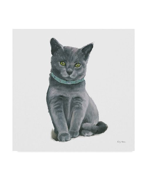 "Trademark Global Emily Adams Cutie Kitties VI Canvas Art - 27"" x 33"""