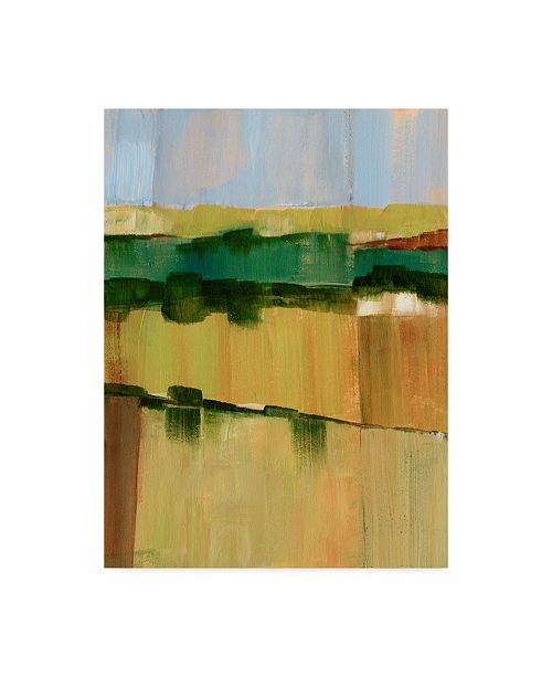 """Trademark Global Ethan Harper Pasture Abstract I Canvas Art - 20"""" x 25"""""""
