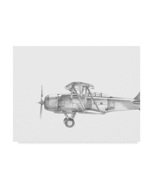 "Trademark Global Ethan Harper Technical Flight IV Canvas Art - 20"" x 25"""