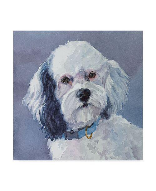 "Trademark Global Edie Fagan Woofie Cockapoo Canvas Art - 27"" x 33"""