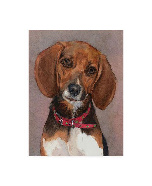 "Trademark Global Edie Fagan Lucy English Pocket Beagle Canvas Art - 20"" x 25"""
