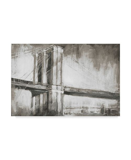 "Trademark Global Ethan Harper Historic Suspension Bridge II Canvas Art - 20"" x 25"""