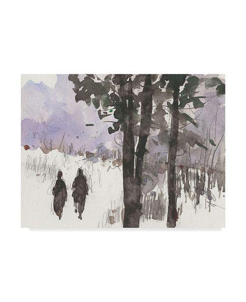 "Trademark Global Samuel Dixon Woodland Sketch I Canvas Art - 20"" x 25"""