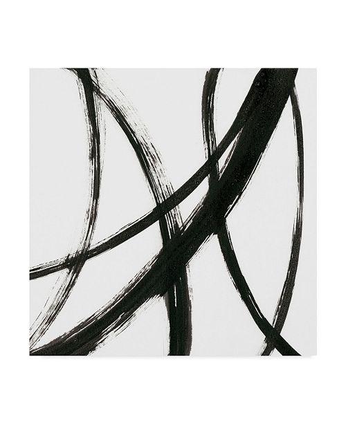 "Trademark Global J. Holland Linear Expression II Canvas Art - 15"" x 20"""