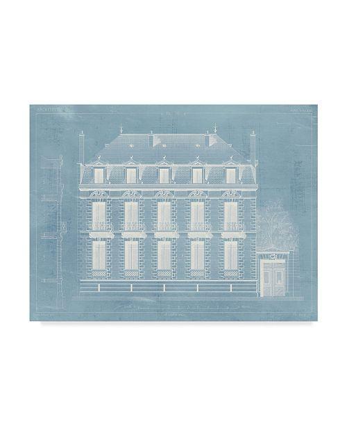 "Trademark Global Vision Studio Architecture Francaise II Canvas Art - 20"" x 25"""