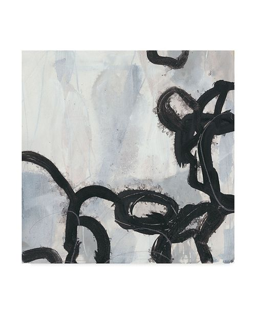 "Trademark Global June Erica Vess Causal Gesture I Canvas Art - 15"" x 20"""