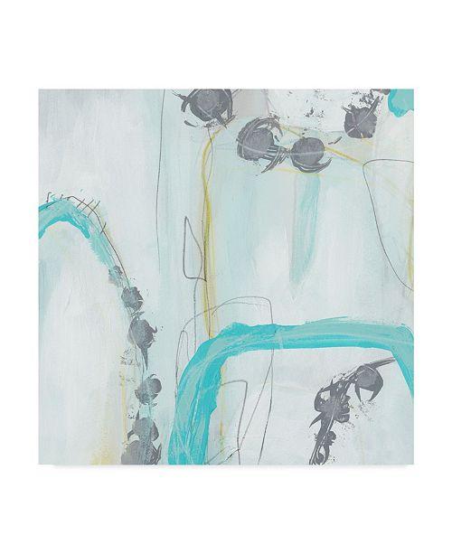 "Trademark Global June Erica Vess End Game I Canvas Art - 15"" x 20"""