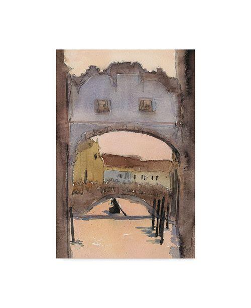 "Trademark Global Samuel Dixon Venice Watercolors VII Canvas Art - 20"" x 25"""