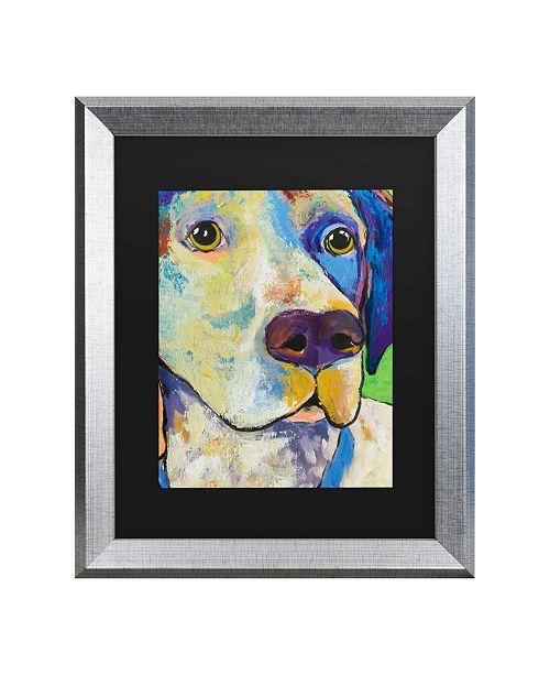 """Trademark Global Pat Saunders-White Yancy Matted Framed Art - 27"""" x 33"""""""