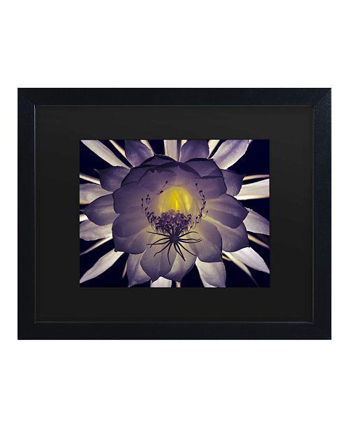"""Trademark Global Kurt Shaffer Night Angel Matted Framed Art - 15"""" x 20"""""""