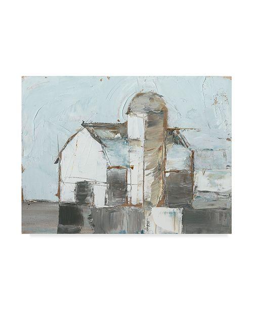 "Trademark Global Ethan Harper Barn and Silo I Canvas Art - 15"" x 20"""