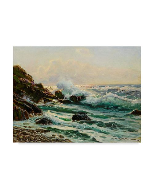 "Trademark Global Constantin Alexandrovitch Westchiloff Main Seascape I Canvas Art - 15"" x 20"""