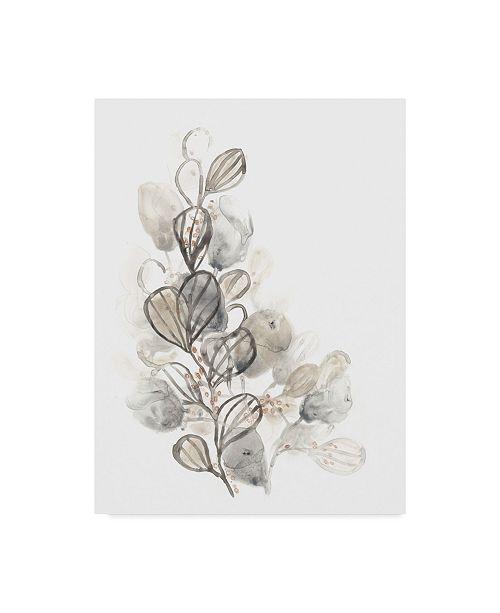 "Trademark Global June Erica Vess Neutral Botany II Canvas Art - 15"" x 20"""